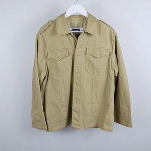 Old Navy Jackets & Coats - Old Navy Men's tan rugged army jacket
